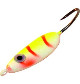 Northland Northland FMUVJ6-60 UV Forage Minnow Jig #8Hk Electric Perch 1/8oz 2Cd