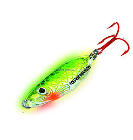 Northland Northland FMS3-20 Forage Minnow Spoon 1/8oz Super-Glo Perch 1Cd