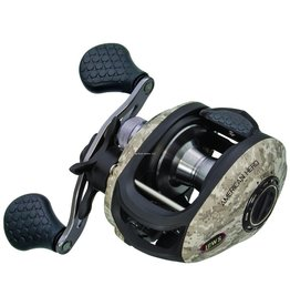 Lew's Lew's AHC1SH American Hero Camo Speed Spool Low Profile Baitcast Reel RH, MCS, 5 BB + 1 RB, 6.4:1 Ratio, 120/12 , 7.2 oz