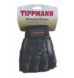 Tippmann Tippmann Armored Gloves Half Finger - LG