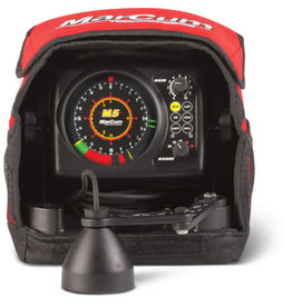 Marcum Marcum M5 Flasher 3-Color Sonar Ice System - Includes Lithium LifePO4 Rechargeable 12 Volt 10 AMP Battery & 3 AMP Hour Rapid Charge Charger