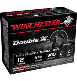 """Winchester WINCHESTER DOUBLE X 12 GAUGE 3.5"""" #4 MAG TURKEY LOAD"""
