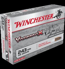 Winchester Winchester Varmint X 243 WIN VARMINT X 58GR POLYMER TIP
