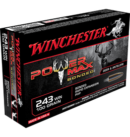 Winchester Winchester 243 WIN 100GR POWER MAX BONDED