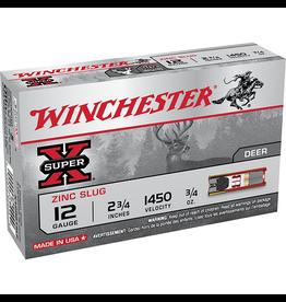 """Winchester Winchester Super X 12GA 2.75"""" LEAD FREE 3/4OZ RIFLED SLUG"""