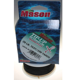 Mason Mason Tip-Up Ice Fishing Line Braided Nylon 20lbs/100yd