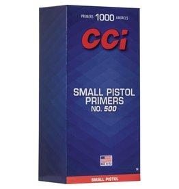 CCI CCI Small Pistol Primers #500 1000ct