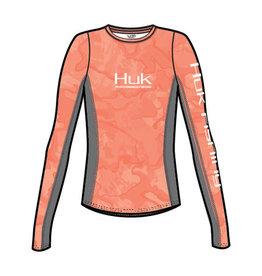 Huk Huk Womens Icon X LS - Cur BiminiCamo