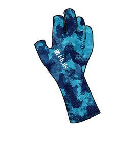 Huk Huk Refraction Sun Glove - San Sal - M/L