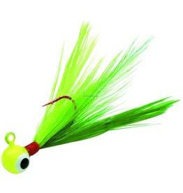 Northland Northland Fire-Fly Jig 1/16 oz, Sz 8 Red Lip-Stick Hook Parakeet