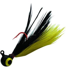 Northland Northland Fire-Fly Jig, 1/32 oz, Sz 10 Red Lip-Stick Hook Bumble Bee