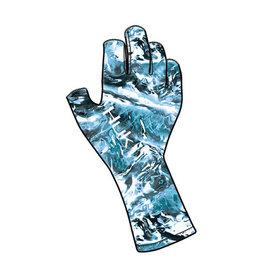 Huk Huk Sun Gloves- Mossy Oak Hydro