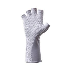 Huk Huk Pursuit Sun Gloves - Carolina Blue