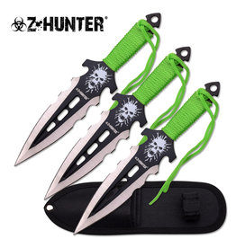 "Z-Hunter Z HUNTER ZB-135-3 THROWING KNIFE SET 7.5"" OVERALL"