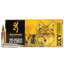 Browning BROWNING BXV 22-250 REM 50GR VARMINT AMMO