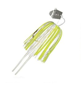 "Z-Man Z-Man CB38-09 Original ChatterBait Bladed Swim Jig, 4 1/2"", 3/8 oz White/Chartreuse"