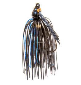 ZMan Zman CrossEYEZ Snakehead Swim Jig - 3/8 oz Black/Blue