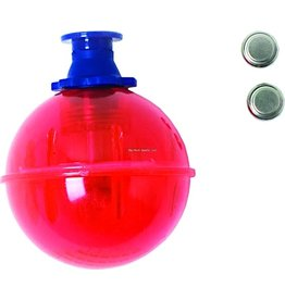 """Eagle Claw Lighted Bobber w/Batteries 1-3/4"""" Eagle Claw FLITERD-134 Round"""