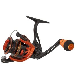 """Lews Lew's MCR400A Mach Crush Spin 400 R/L 11 Bearing System, C40 Carbon, CT1 Grips, Full Contact Reel Seat, 6.2:1, 35"""" RPT"""