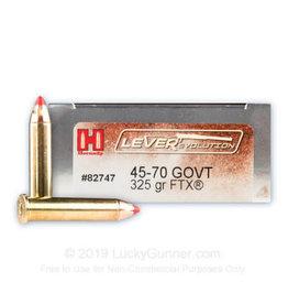 Hornady Hornady LeverEvolution 45-70 GOVT 325gr FTX 20/Box  82747