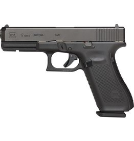 """GLOCK Glock UA1750201 G17 Gen5 Semi-Auto Pistol, 9MM, 4.49"""" Bbl, Poly Grip, 10+1 Rnd, 3 Mags, Fixed Sights"""