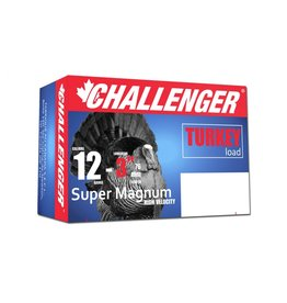 "Challenger Challenger Super Magnum 12GA Turkey Load 3"" #6 Shot 2oz"