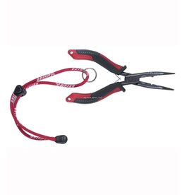 "Berkley Berkley BFGBNP6 XCD Bent Nose Pliers 6"" Red/Grey/ Black"