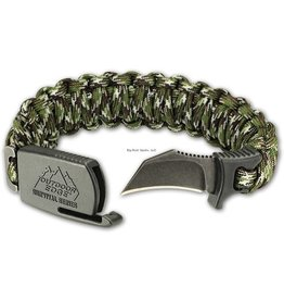 Outdoor Edge Outdoor Edge PCC-80C Para-Claw Knife Bracelet, Camo, Medium (6.3-7) Blister