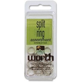 Worth Worth 53101 Split Ring Sz1 Nic/Steel