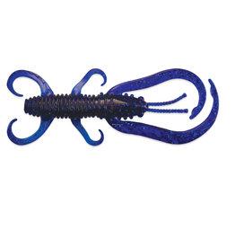 """Culprit Culprit FC312-168 Flutter Craw, Sapphire Blue, 3"""", 12ct, bag"""