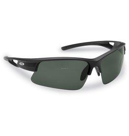Flying Fisherman Flying Fisherman 7871BS Moray Polarized Sunglasses, Matte Black Frames, Smoke Lens