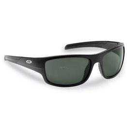 Flying Fisherman Flying Fisherman 7709BS Shoal Polarized Sunglasses, Matte Black Frame, Smoke Lens