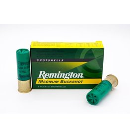 "Remington Remington 12GA Buckshot 3"" 1225 FPS 15 Pellets 00Buck"