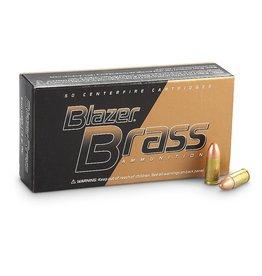 Blazer Ammunition Blazer Brass 9mm Luger 115gr FMJ - 100 Rounds