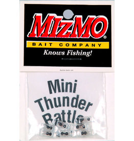Mizmo Mizmo 97401 Mini-Thunder Rattle Glass Rattles For Tubes 7Pk