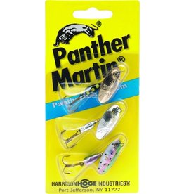 panther martin Panther Martin WT3 Western Trout Kit, #4, 1/8 oz, Assorted, 3/Pack (389338)
