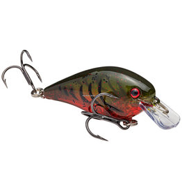 Strike King Strike King HCKVDS1.0-468 Squarebill Crankbait- KVD 1.0- Phantom Watermelon Red Craw