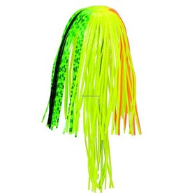 "Strike King Strike King PFT32-217 Perfect Skirt with Magic Tails, 4"", Firetiger,2pk"
