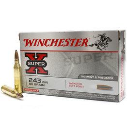 Winchester Winchester Super X 243WIN 80gr  X2431