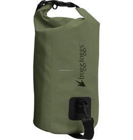 Frogg Toggs Frogg Toggs SDB100-09 PVC Tarpaulin Waterproof Dry Bag w/Cooler Insert, Green, 10L