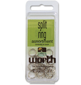 Worth Worth 53103 Split Ring Sz3 Nic/Steel
