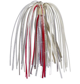 "Strike King Strike King BB33-328 Bleeding Replacement Skirt, 4-1/2"", Baitfish,3pk"