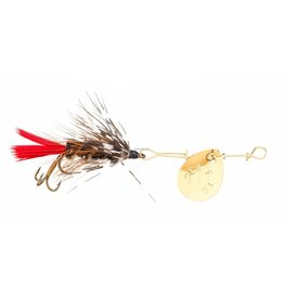 Joes Flies Joes 102-8 Short Striker Classic In-Line Spinner Fly, Sz 8, Spitfire (012211)