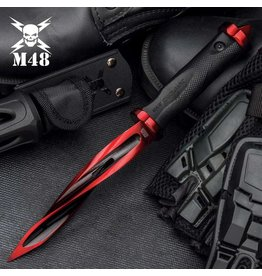 Limited Edition M48 Cardinal Sin Cyclone® Boot Knife With Vortec Sheath - Cast Stainless Steel Blade, Reinforced Nylon Handle