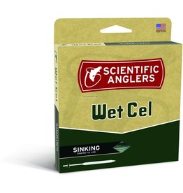 Scientific Anglers Scientific Anglers 112338 WetCel WF 8-S Sinking Fly Line Type IV Weight Forward Charcoal