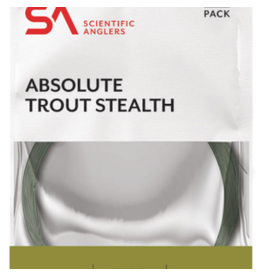 Scientific Anglers Scientific Anglers - Absolute Trout Leader 6X, 9.0 ft 3.5 lb
