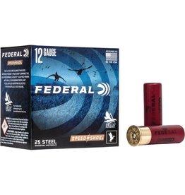 """Federal 12GA Federal SPEED-SHOK  3"""" 1.1/4 OZ. BB HV STEEL AMMO"""