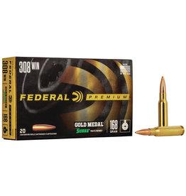 Federal FEDERAL PREMIUM AMMO GOLD MEDAL 308 WIN SIERRA MATCHKING 168GR BTHP 20/BX