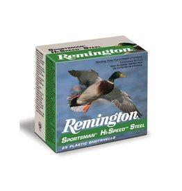 """Remington 12GA Remington Sportsman Hi-Speed Steel  3"""" #2shot 1 1/8oz 1550 FPS"""