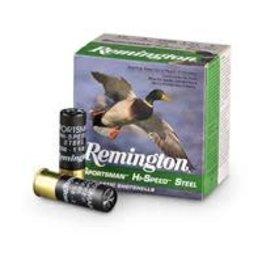 "Remington 12GA Remington Sportsman Hi Speed Steel 3"" #4 shot  1 1/8oz 1550fps  SSTHV12H4"
